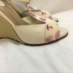 Cole Haan Shoes - Cole Haan Floral print wedge size 6B